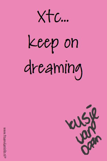 Kusje-180114-keep on dreaming