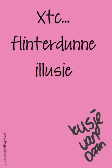 Kusje-29dec-flinterdunne illusie