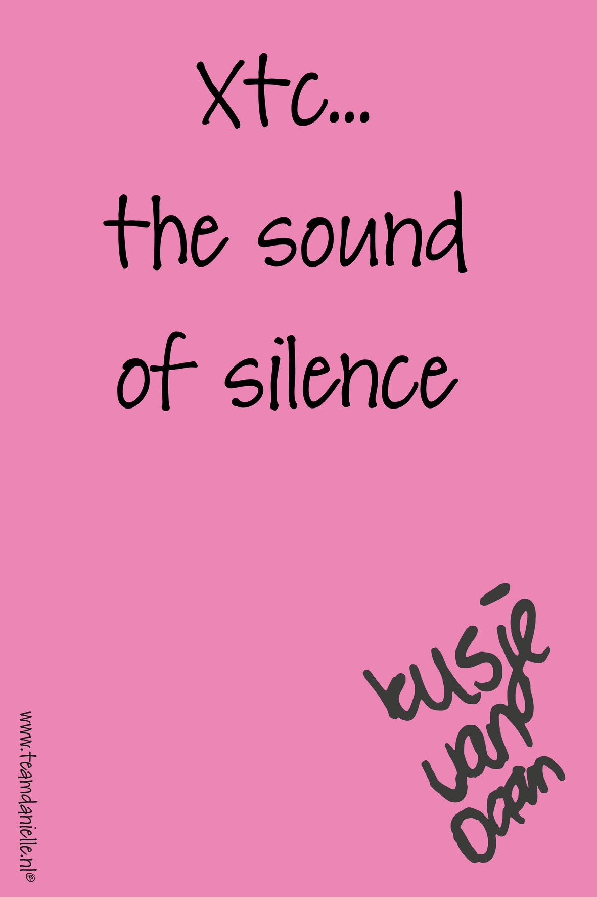 Kusje-180315-m-the sound of silence