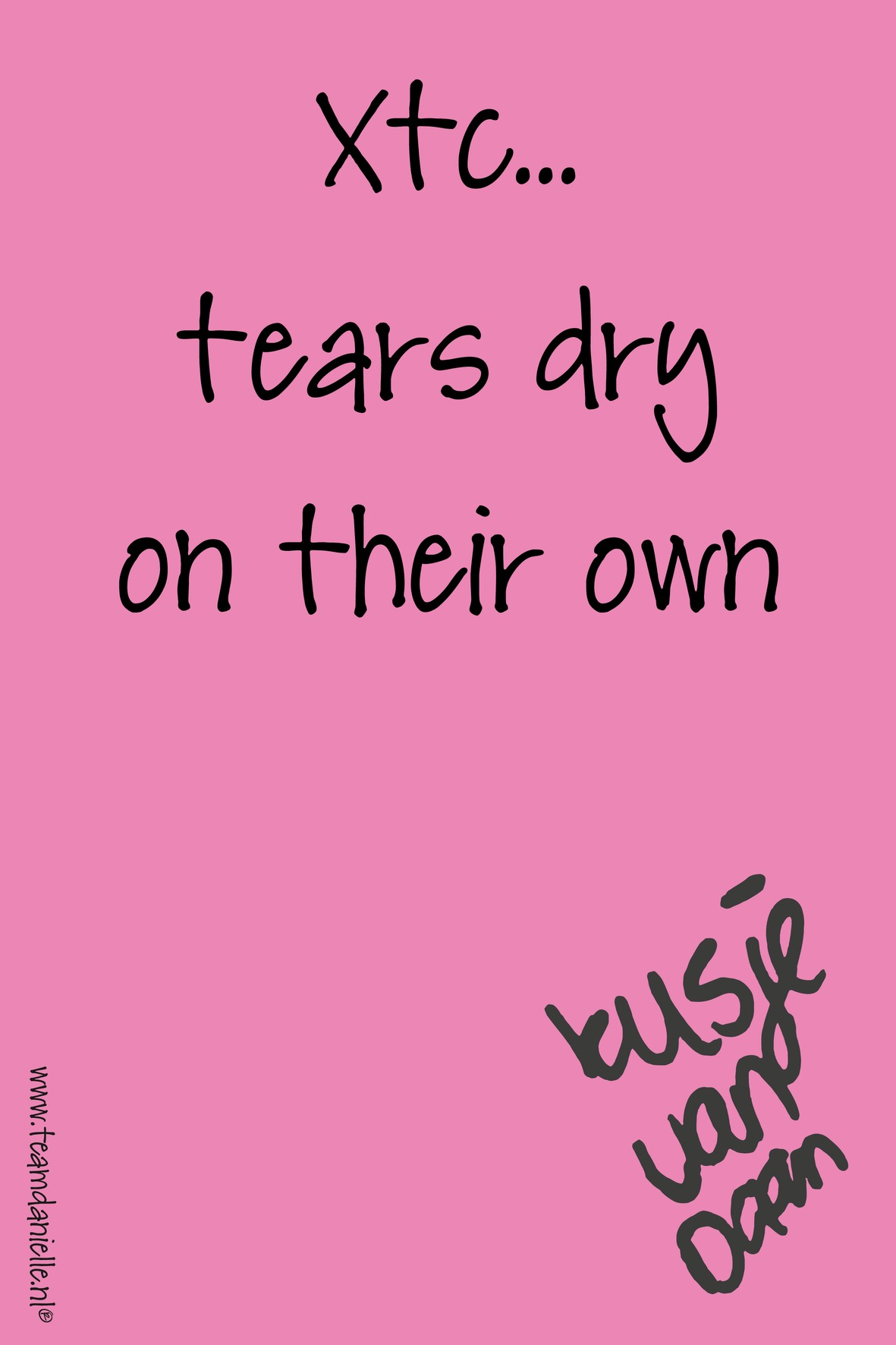 Kusje-180316-m-tears dry on their own