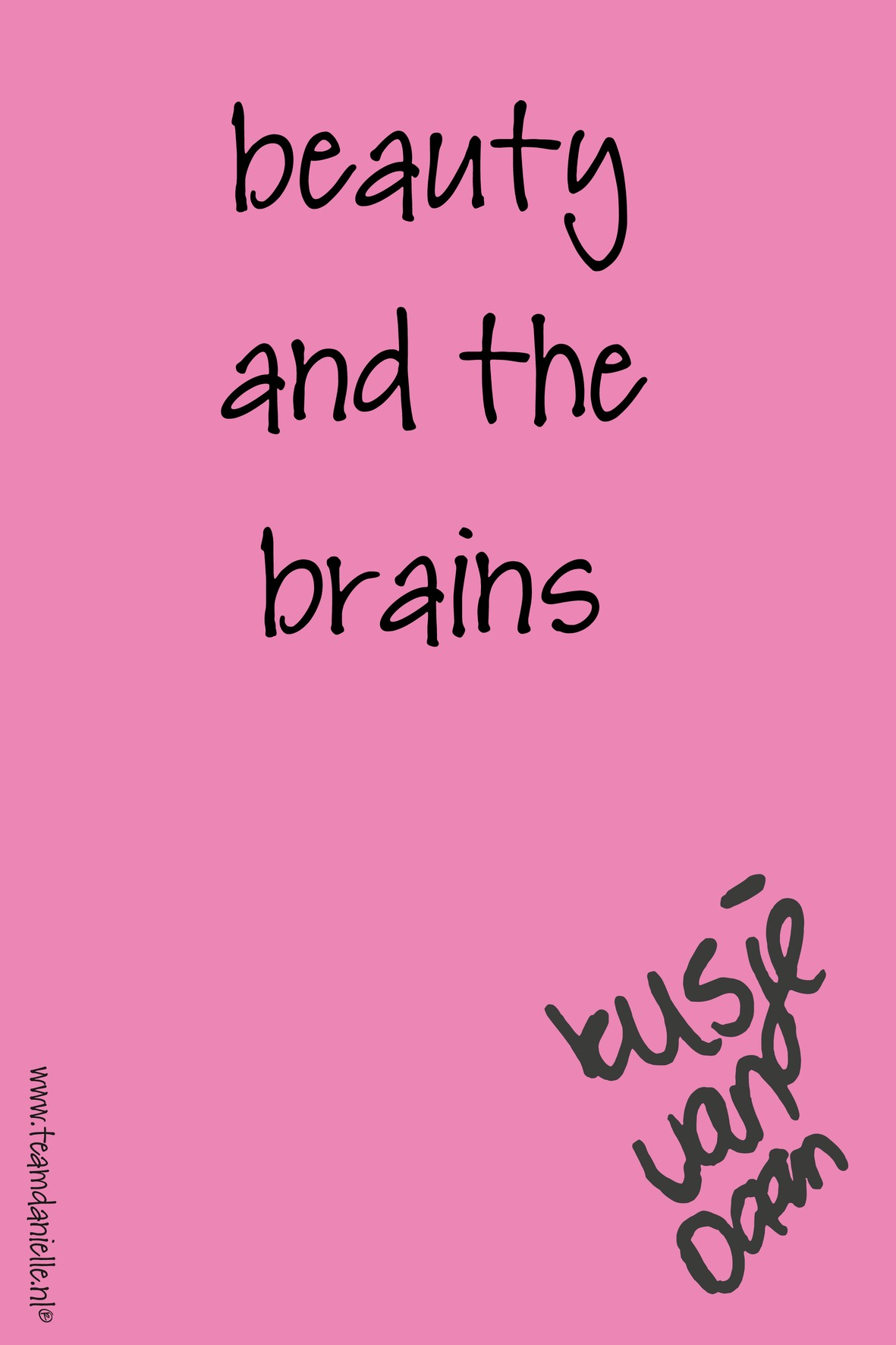 Kusje-180425-beauty and the brains