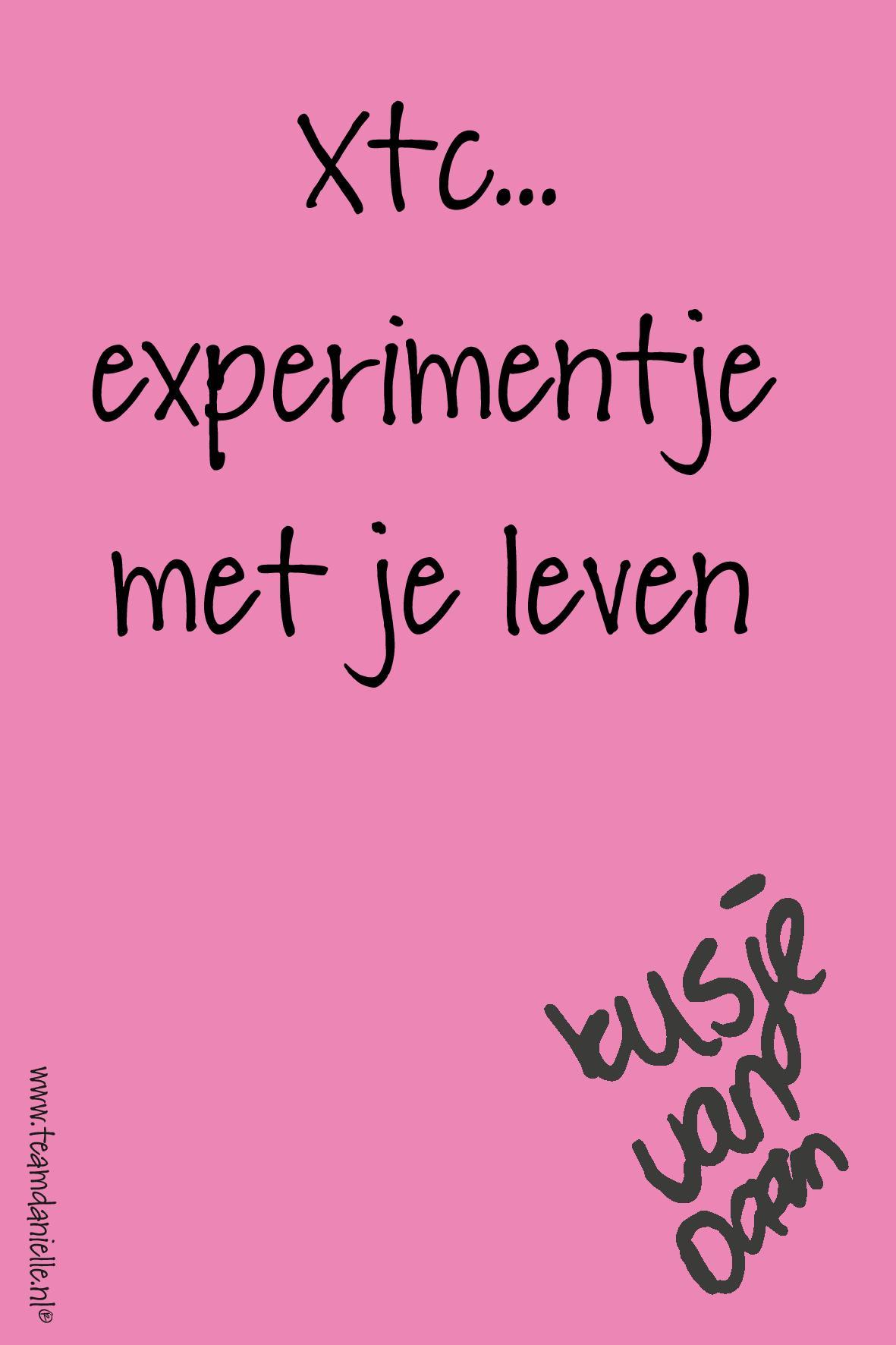 Kusje-180904-experimentje met je leven