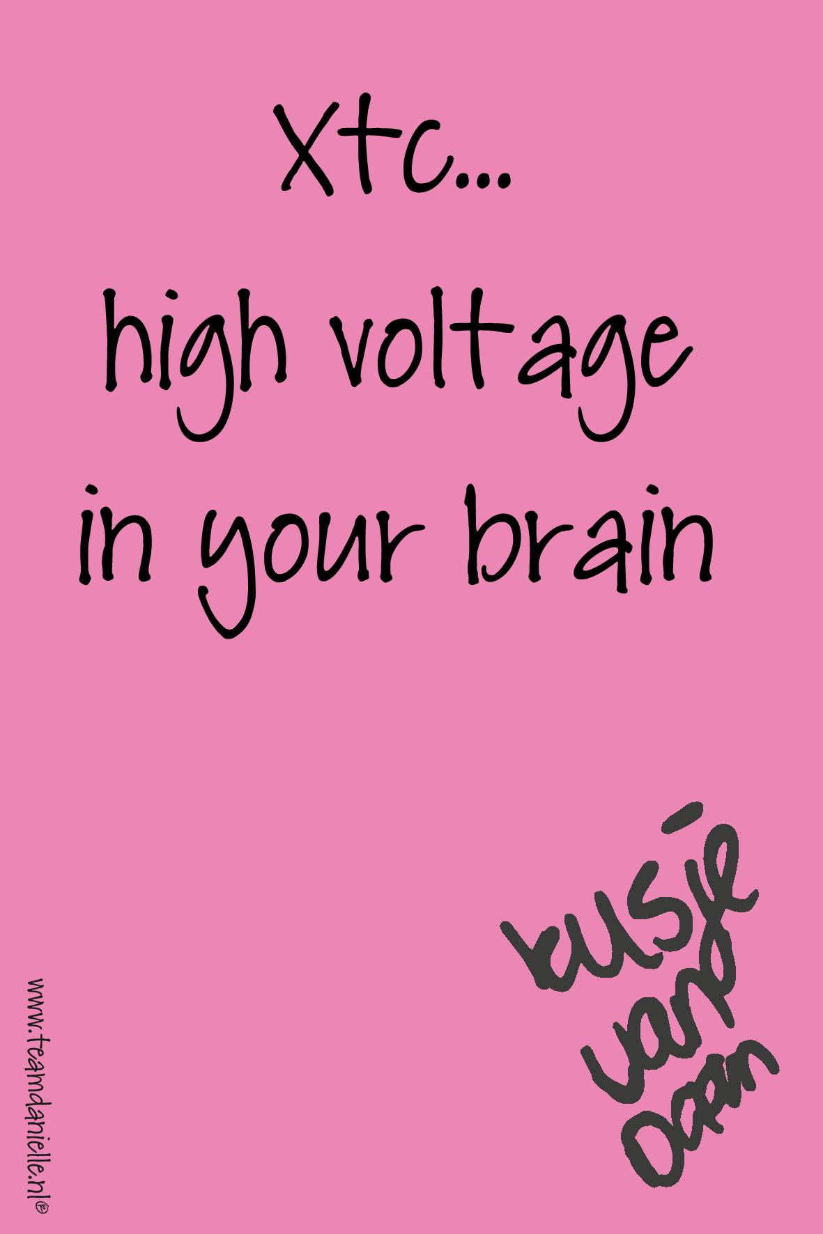 Kusje-190317-high voltage in your brain